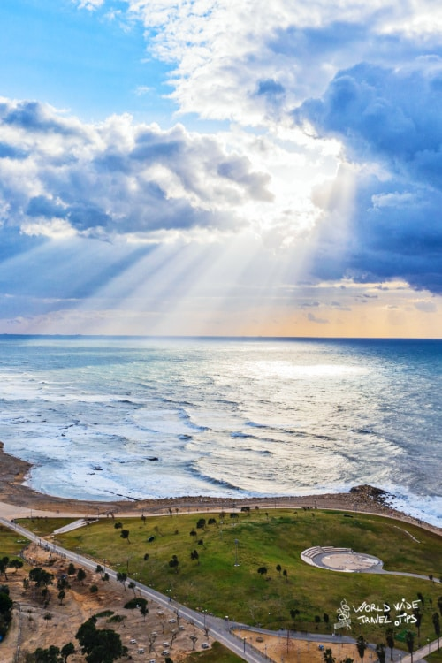 Tel Aviv Israel in Spring
