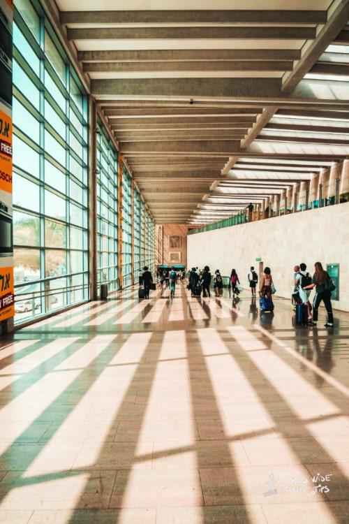 Tel Aviv airport Ben Gurion