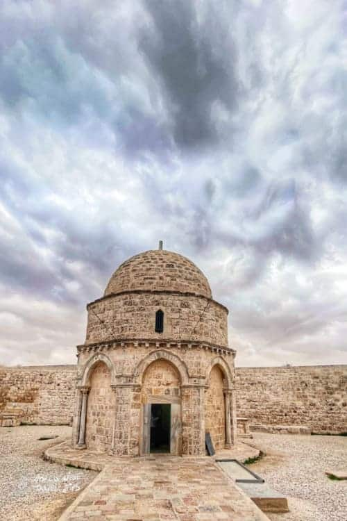 the Chapel of the ascension Jerusalem
