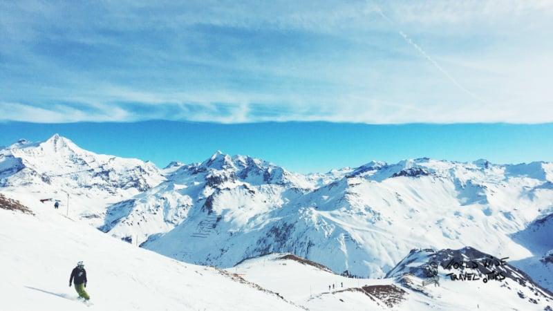 Alpe D Huez Ski in France