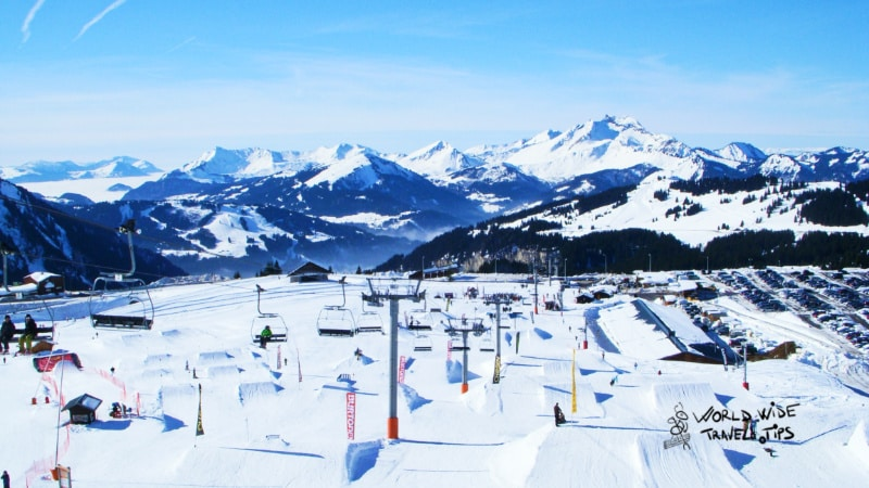 Avoriaz Ski resort France