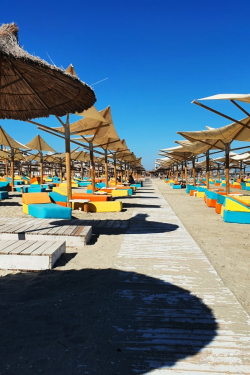 Mamaia Beach in Romania