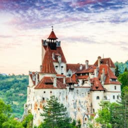 Castle of Bran Transylvania Romania