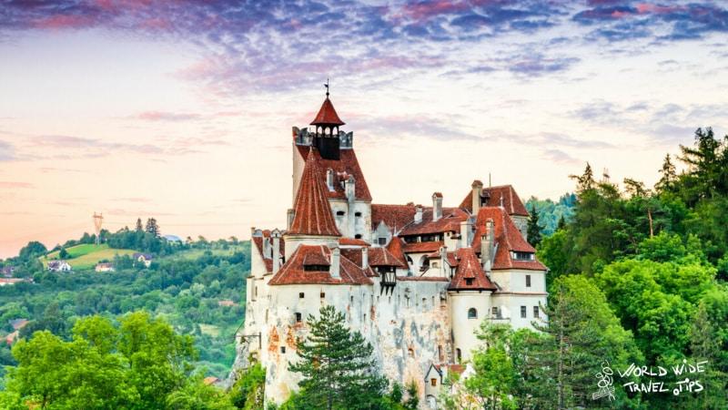 Castle of Bran Transylvania Romania