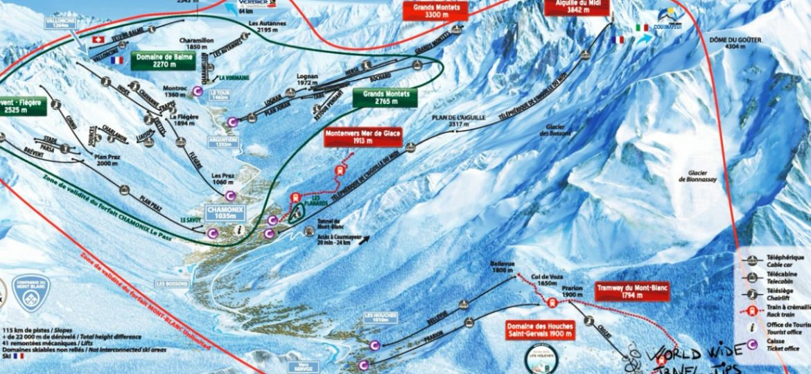 Chamonix ski areas review