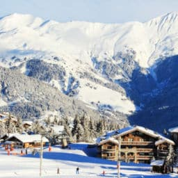 Courchevel resort Ski in France