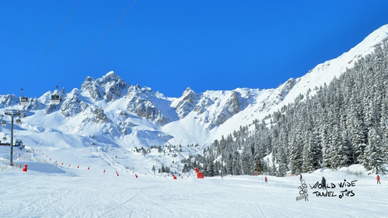 Courchevel ski resorts in France