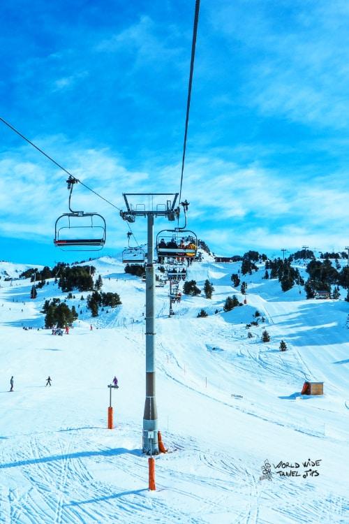 Val D allos Ski resort south France