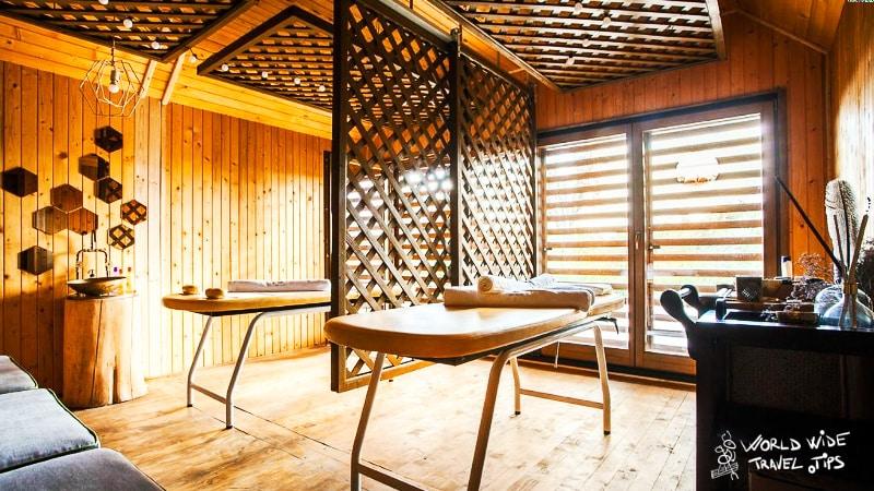 Green Village Danube Delta Spa Massage Room