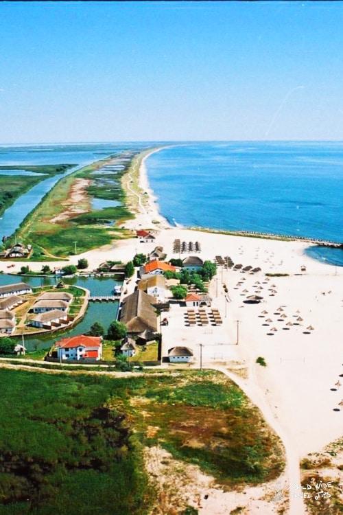 Gura Portitei Beach Romania Black Sea coast Danube Delta