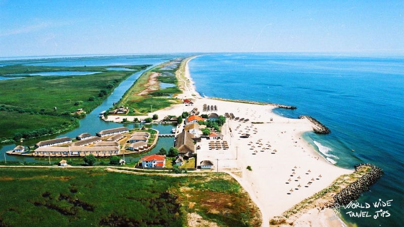 Gura Portitei Beach Black Sea Danube Delta