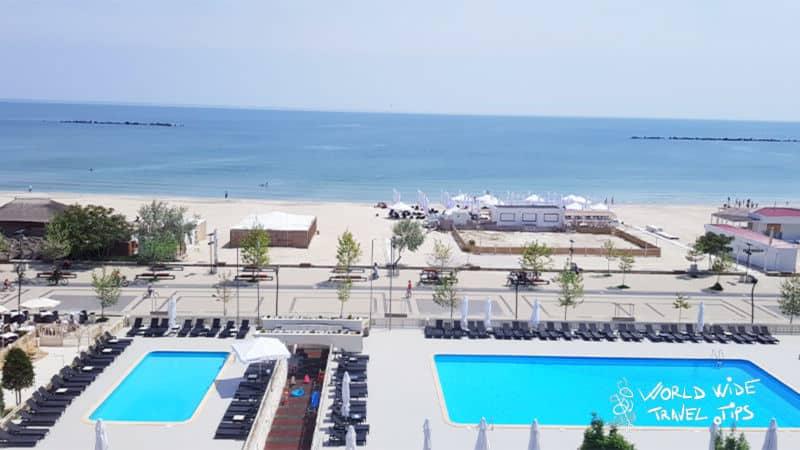 Iaki Mamaia Hotel on Black Sea Romania