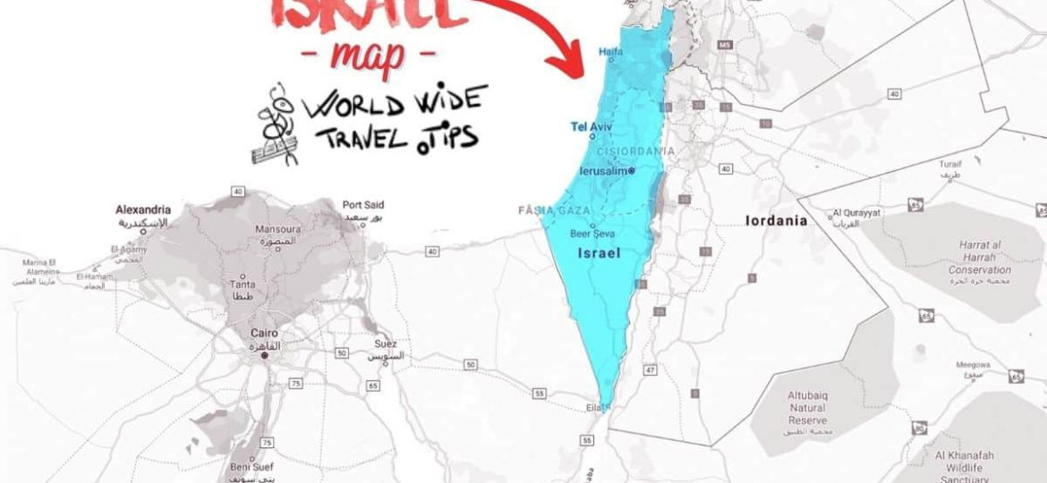 What continent is Israel in