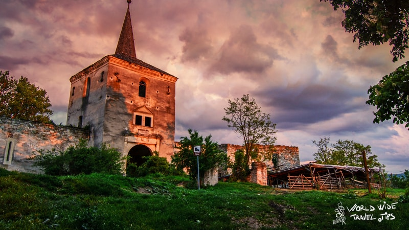 Kornis Castle in Transylvania