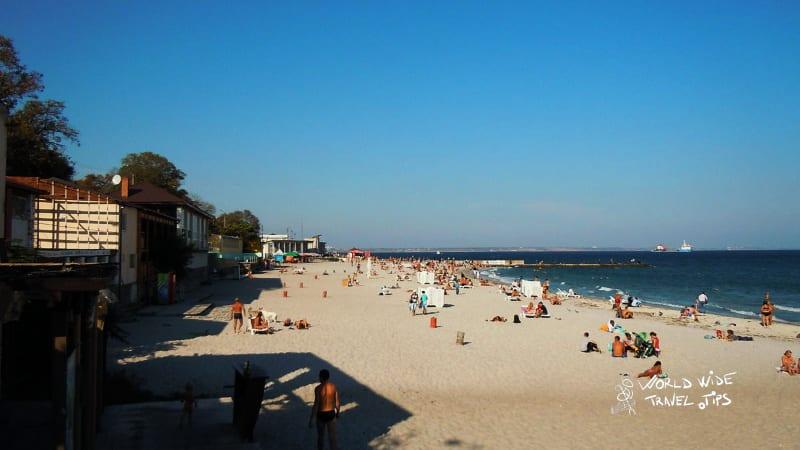 Langeron Ukraine black sea beaches