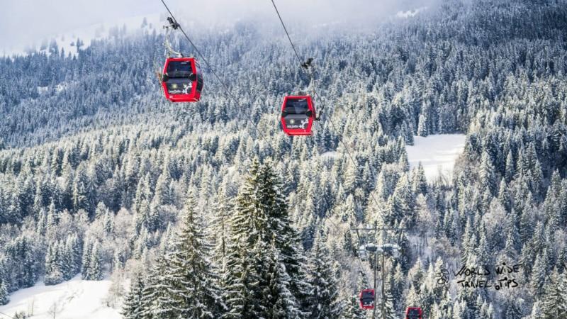 Les Gets Ski in France