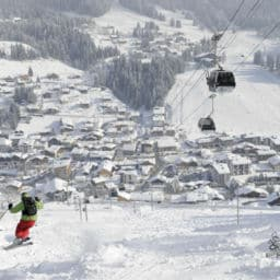 Les Gets ski resorts in France near Geneva