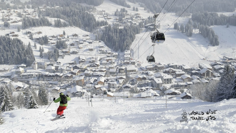 Les Gets Ski resorts in France