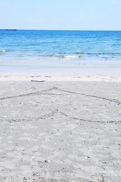 Modern beach Constanta black sea coast