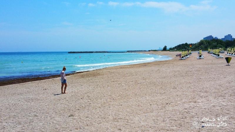 Olimp Beach Romania Beaches on Black Sea Coast