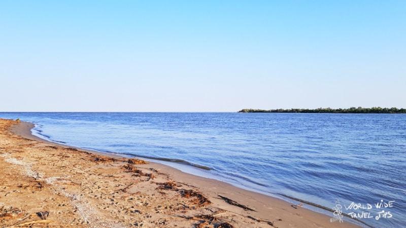 Plaja Sulina Beach wild beaches on black sea coast