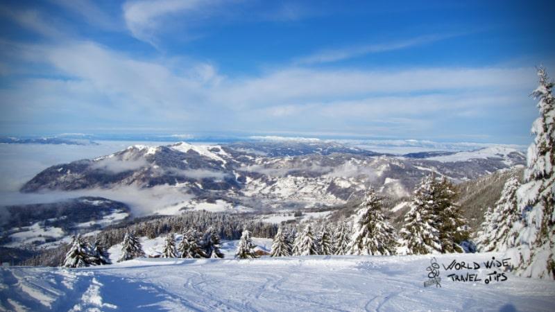 Praz de Lys Ski in France