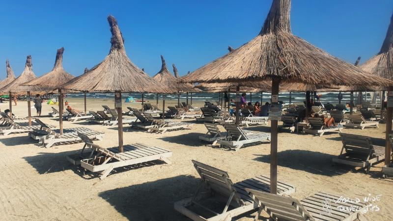Mamaia Romania Beaches Black Sea