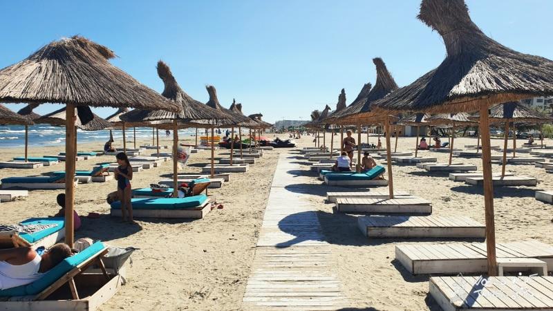 Mamaia Romania Beaches on Black Sea Coast