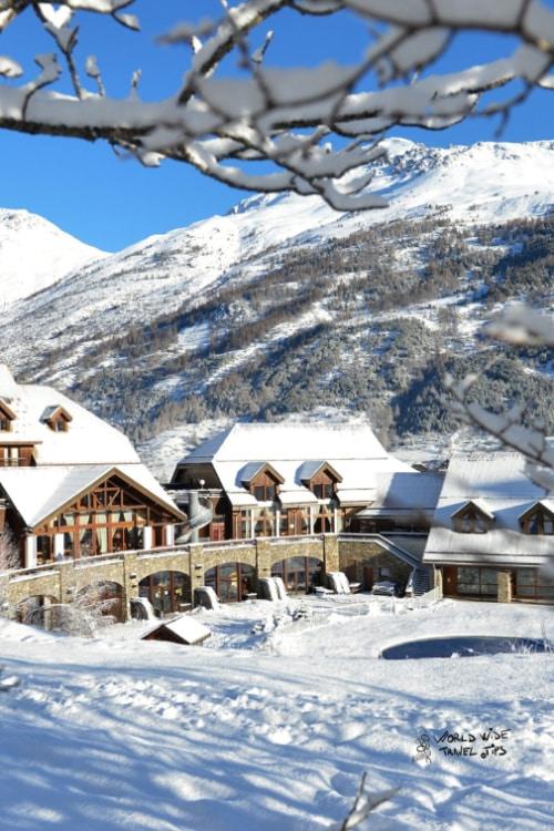 Serre Chevalier Ski Resort in France