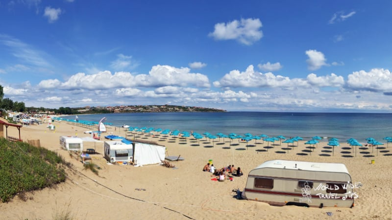Smokinya Bulgaria Beach Black Sea Beaches