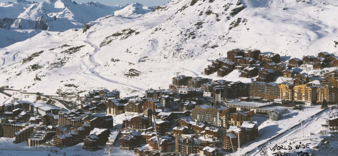 French ski resort Val D'Isere Ski resorts in France
