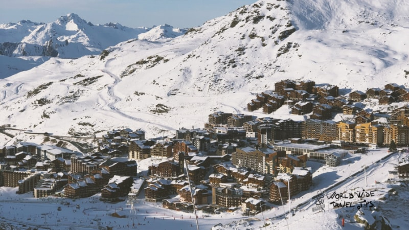 French ski resort Val D'Isere