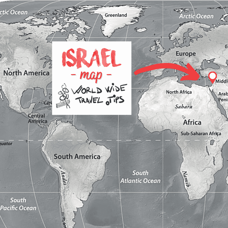 In which continent is israel