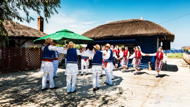 holiday village gura portitei Romanian Traditional Dance