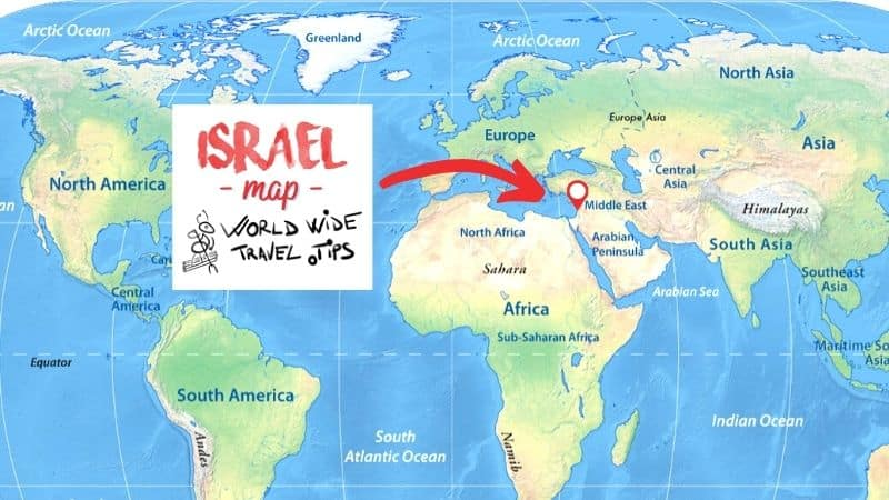 On which continent is israel