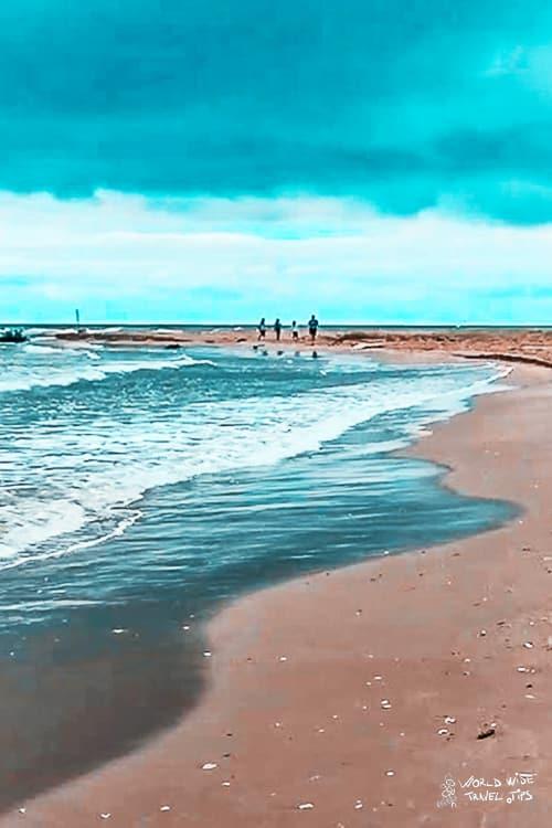 plaja sfantu gheorghe beach in Romania