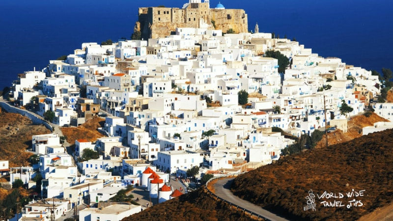 Astypalaia Airport (JTY) Greek Island with Airport
