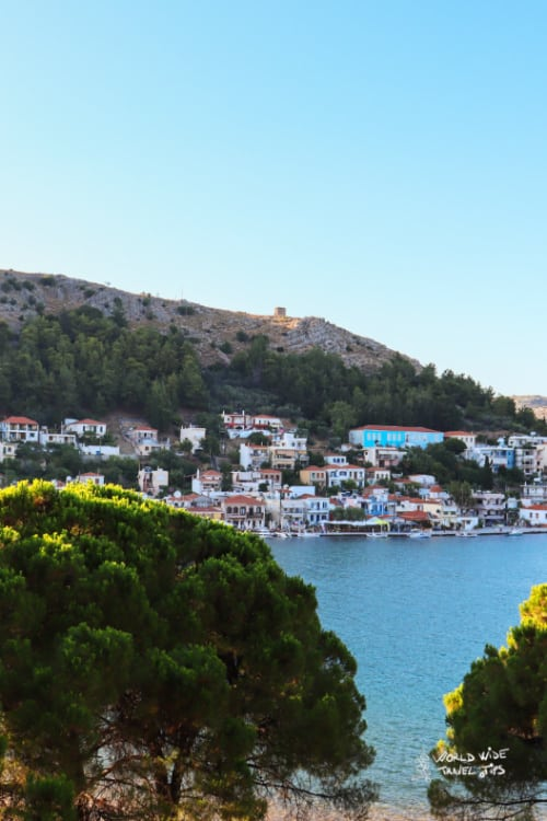 Chios Greek Island with Airport (JKH)
