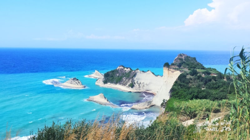 Corfu Korfoe Greece Greek Island