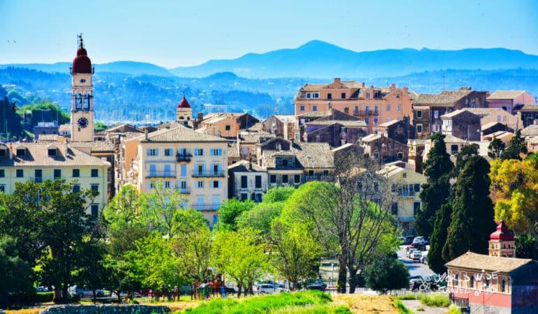 most beautiful greek islands Corfu Town Greece Greek Island Korfu