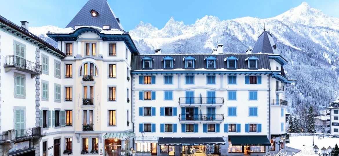chalets in France ski resorts Grand Hotel des Alpes Chamonix France