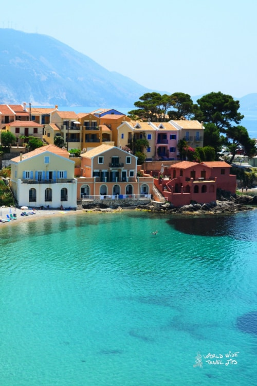 Greece Cefalonia Kefalonia Greek Islands in May
