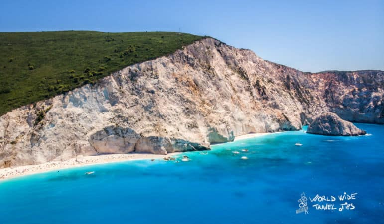 Greek islands best beaches Lefkada Beach
