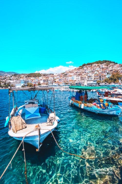 Plomari Lesvos Greek Island with Airport (MJT)