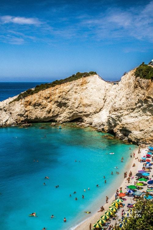 Porto Katsiki Beach Lefkada Greece Beaches June
