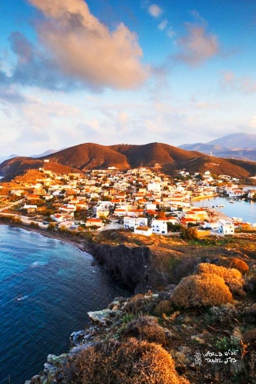 Psara Island Chios Aegean Sea Greece Greek Islands