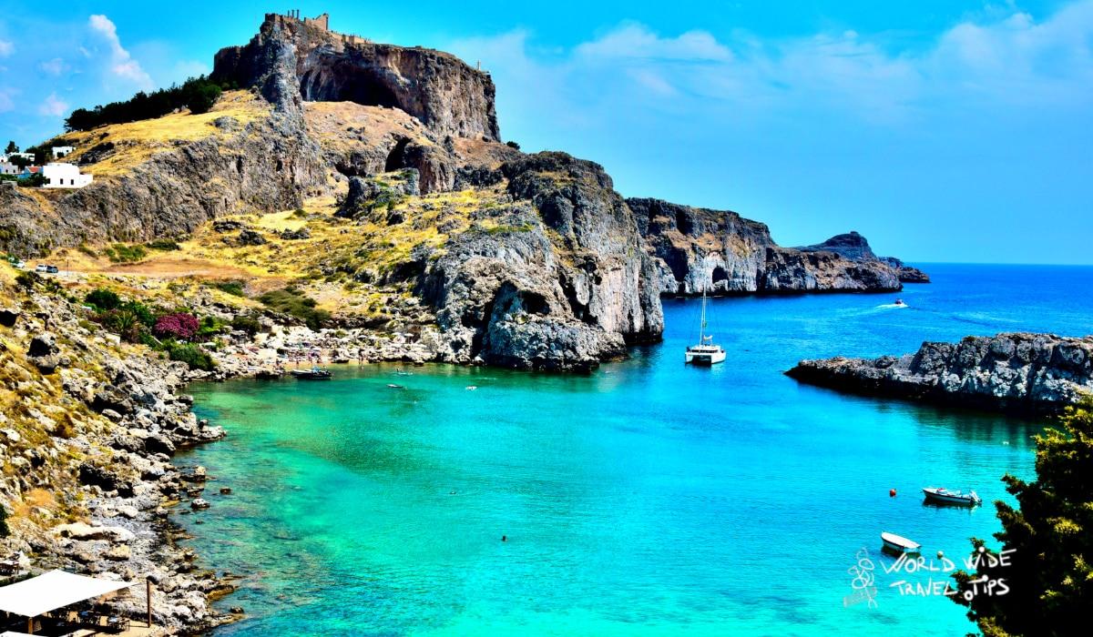 Rhodes Greece Greek Islands weather in summer