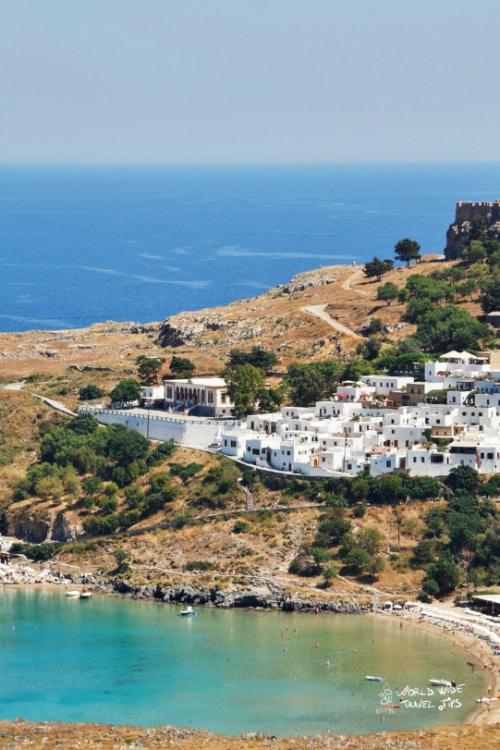 Rhodes Greek Island Lindos