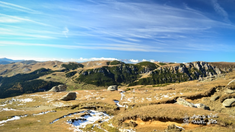 Romania Mountains Landscape