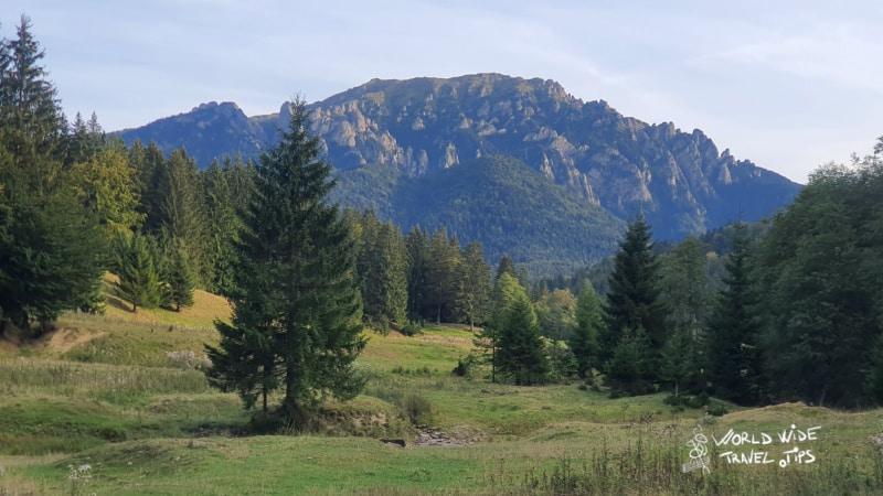 Romania Mountains Transylvania Landscape